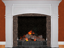 Small screenshot 2 of 3D Cozy Fireplace