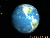 Screenshot of 3D Earth