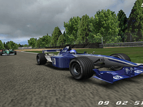 Screenshot of 3D Formula 1
