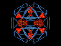 Screenshot of 3D Kaleidoscope