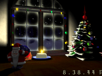 Screenshot of 3D Santa