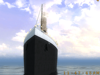 Screenshot of 3D Titanic