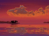 Small screenshot 2 of 3D Tropical Sunsets