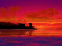 Small screenshot 3 of 3D Tropical Sunsets