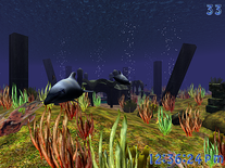Screenshot of 3D Wild Dolphin
