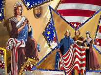 Screenshot of 4th of July Art