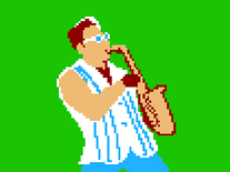Screenshot of 8-Bit Epic Sax Guy