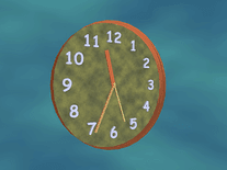 Screenshot of Active Clock