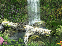 Screenshot of Amazing Waterfall