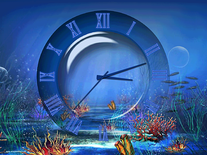 Small screenshot 2 of Aquatic Clock