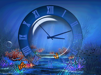 Small screenshot 3 of Aquatic Clock
