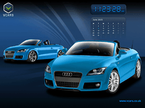 Screenshot of Audi Calendar