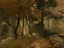 Screenshot of Autumn Walk 3D