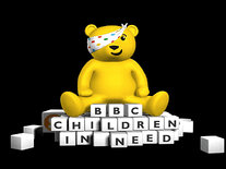 Screenshot of BBC Pudsey Bear