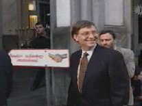 Screenshot of Bill Gates Cream Pie