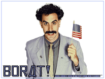Screenshot of Borat
