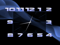 Screenshot of Box Clock