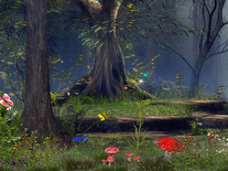 Screenshot of Butterfly Woods