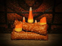 Screenshot of Candy Corn Fireplace
