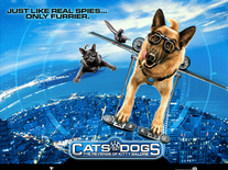 Screenshot of Cats & Dogs Movie
