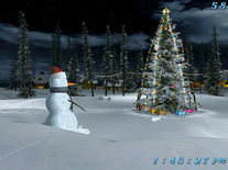 Screenshot of Christmas Eve 3D