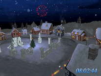 Screenshot of Christmas Land 3D