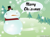 Screenshot of Christmas Snowman