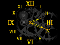 Screenshot of Clock Mechanism