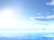 Small screenshot 2 of Clouds over the Ocean