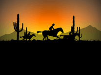 Screenshot of Cowboy Ride