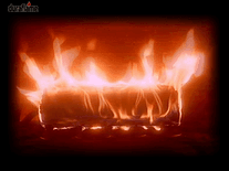 Screenshot of Crackling Fire Log