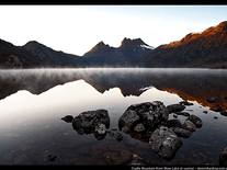 Screenshot of Cradle Mountain
