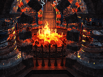 Small screenshot 1 of Crystal Fireplace 3D