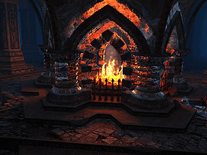 Small screenshot 3 of Crystal Fireplace 3D