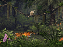 Screenshot of Deep in the Jungle