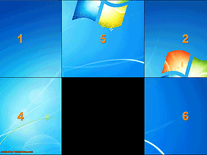 Screenshot of Desktop Puzzle