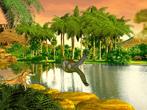 Screenshot of Dinosaur Valley