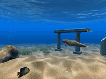 Screenshot of Dolphin Aqua Life 3D