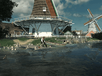 Screenshot of Dutch Windmills 3D