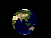 Screenshot of Earth