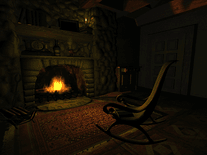 Screenshot of Elefun Fireplace