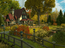 Screenshot of Fall Cottage 3D