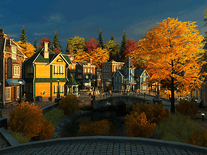 Small screenshot 3 of Fall Village 3D