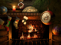 Small screenshot 2 of Fireside Christmas 3D