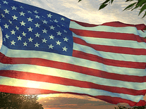 Screenshot of Flag 3D