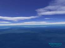 Screenshot of Flight Over Sea