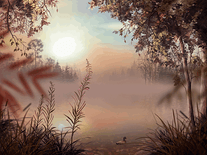 Screenshot of Fog Lake