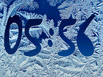 Screenshot of Frost Clock