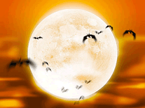 Screenshot of Full Moon Bats