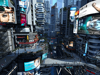 Small screenshot 1 of Futuristic City 3D